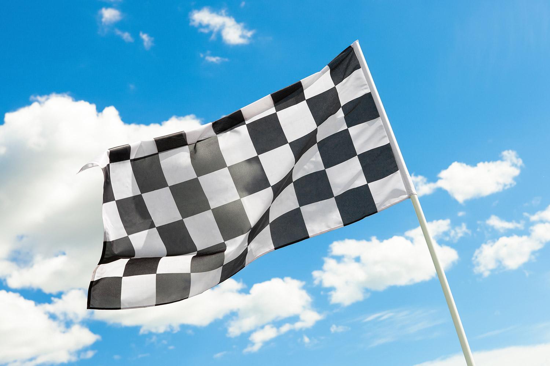 Adventure Speedway Go Karts 2 Flag