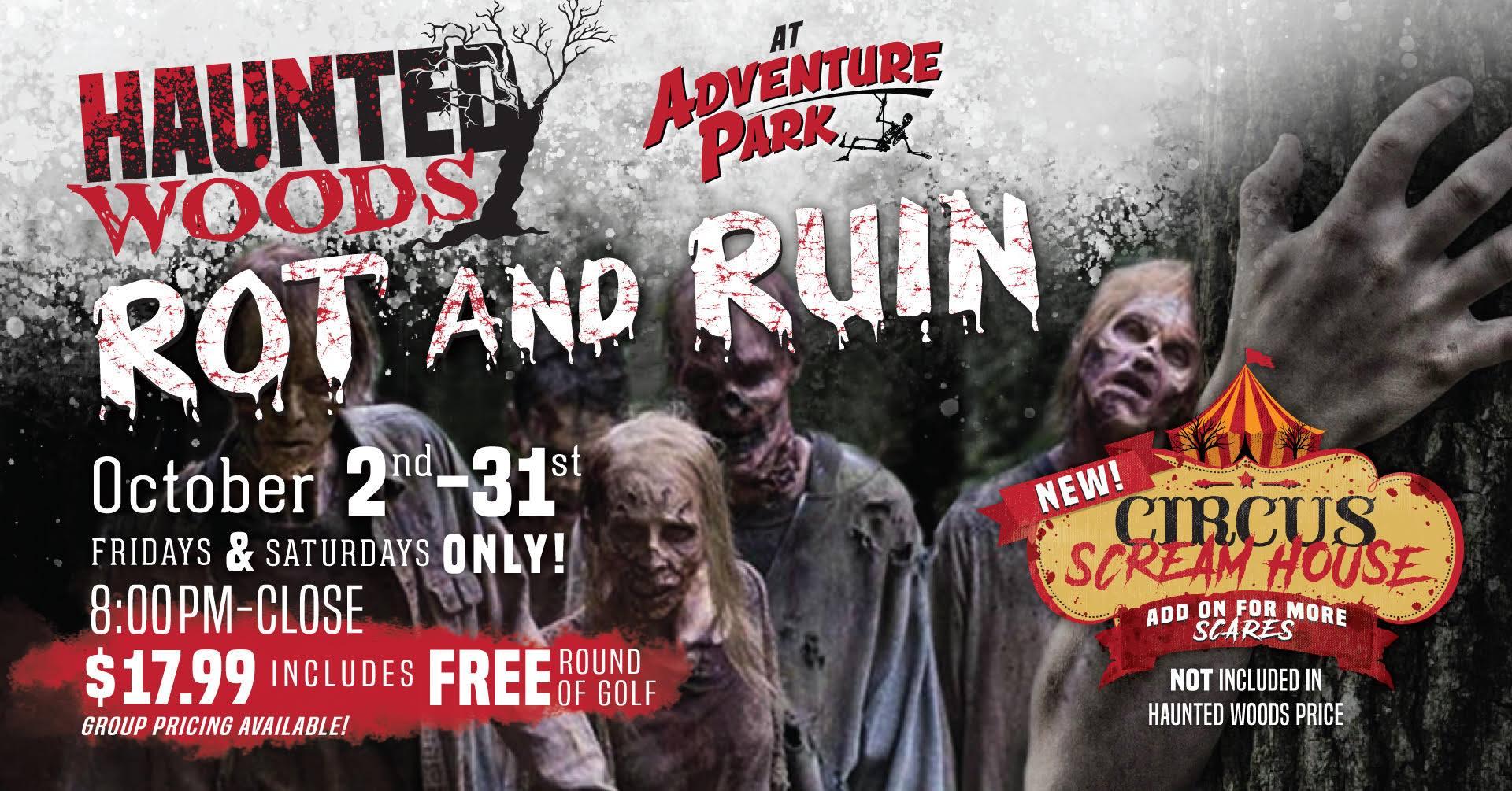 Haunted Woods. Buy tickets now