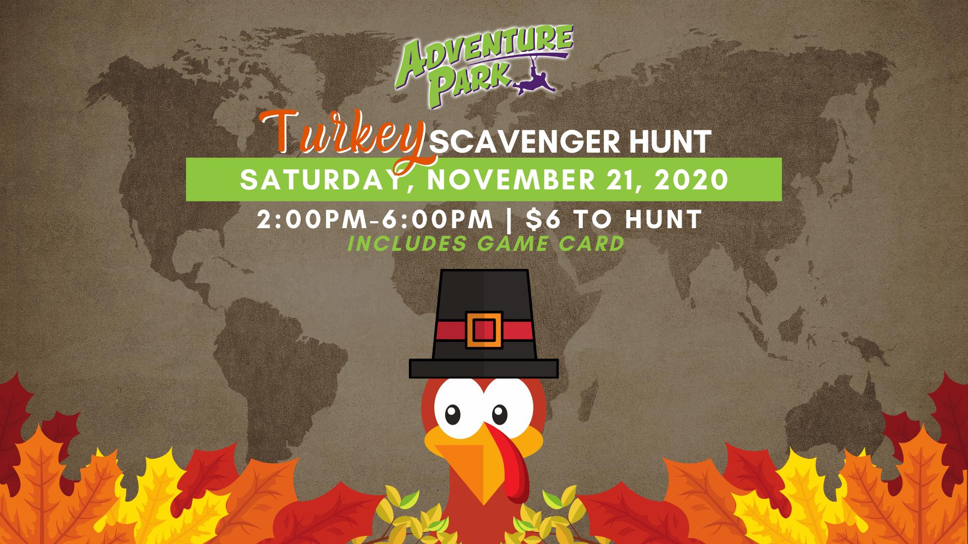Turkey Scavenger Hunt